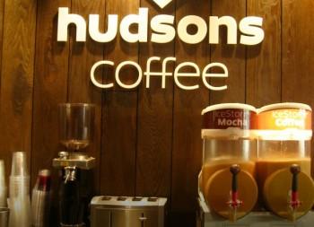 Hudsons Coffee - 3D Signage